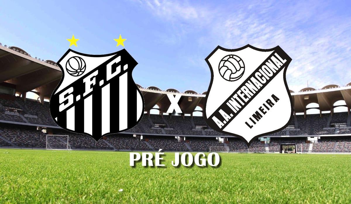 santos x inter de limeira campeonato paulista 2021 paulistao a1 sexta rodada pre jogo