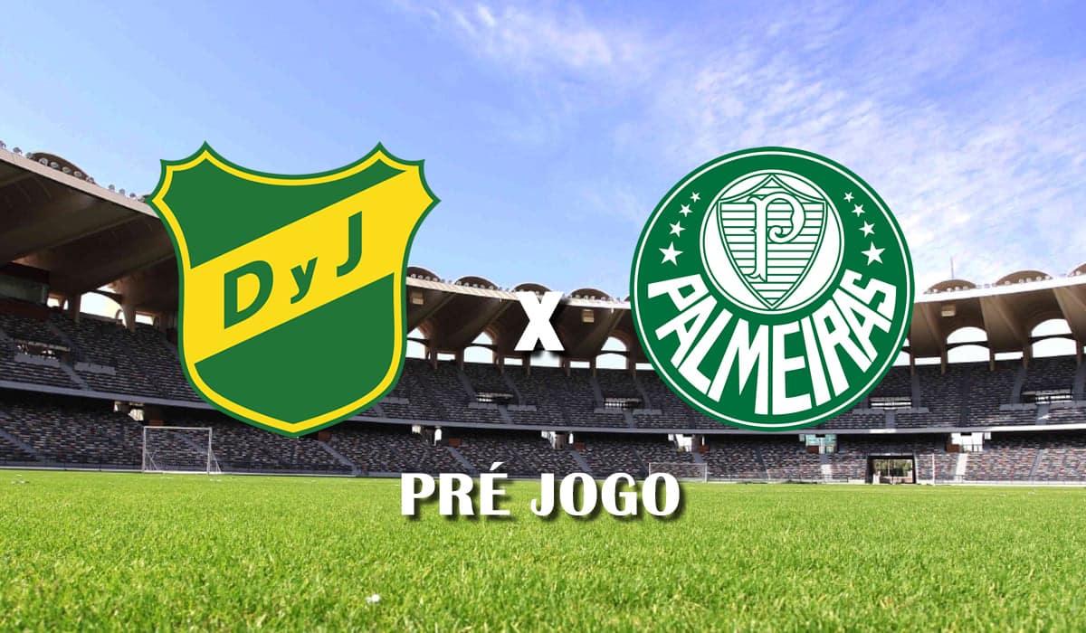Defensa y Justicia x Palmeiras terceira rodada copa libertadores da america 2021 grupo a pre jogo