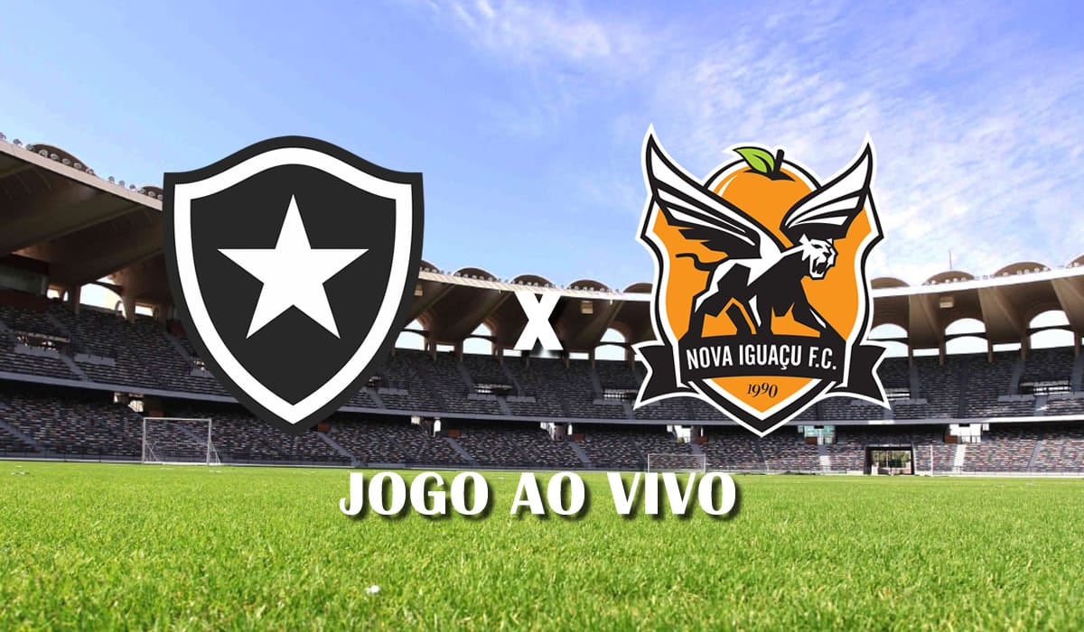 botafogo x nova iguacu taca rio 2021 primeiro jogo semifinais campeonato carioca jogo ao vivo