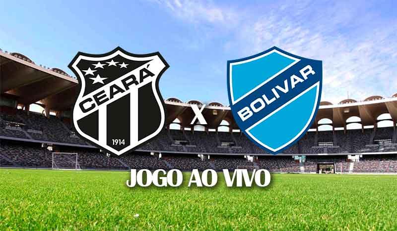 ceara x bolivar quinta rodada copa sul americana 2021 grupo c jogo ao vivo