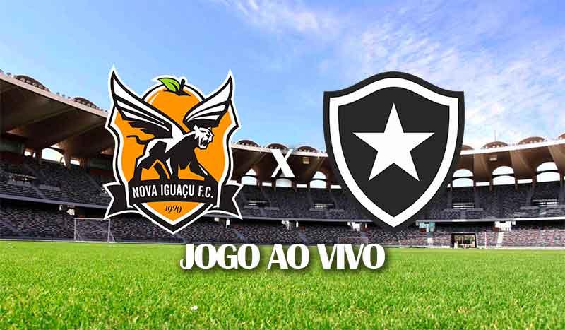 nova-iguacu-x-botafogo-segundo-jogo-semifinal-taca-rio-2021-jogo-ao-vivo