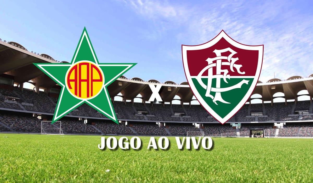 portuguesa rj x fluminense primeiro jogo semifinal campeonato carioca 2021 jogo ao vivo