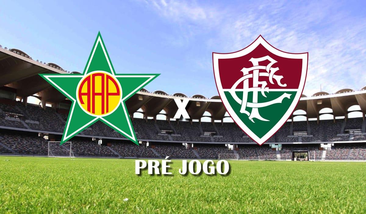 portuguesa rj x fluminense primeiro jogo semifinal campeonato carioca 2021 pre jogo