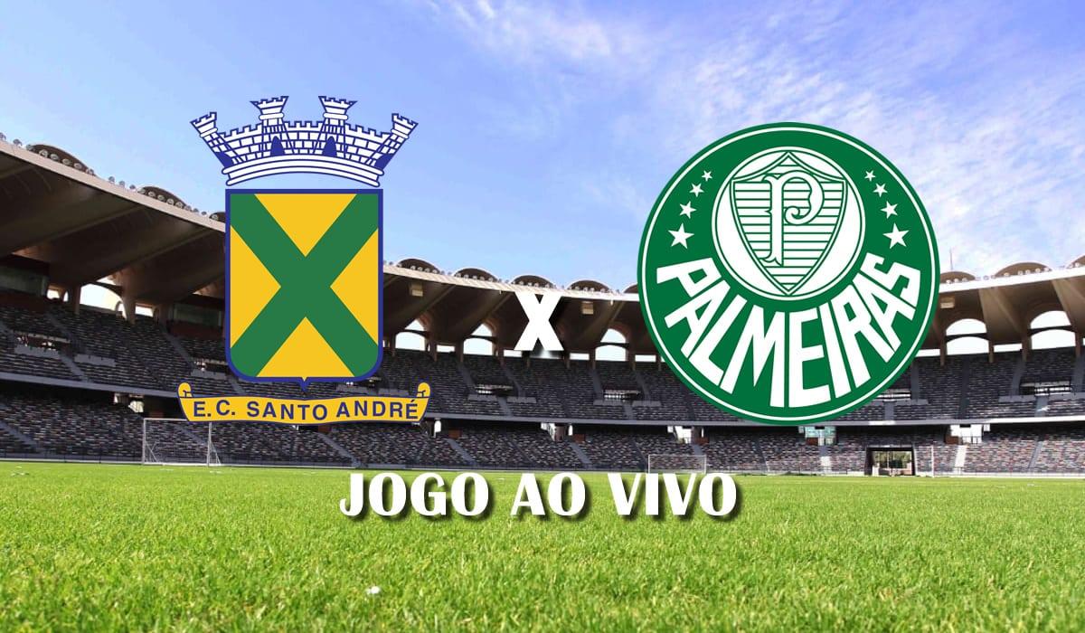 santo andre x palmeiras 10 rodada do campeonato paulista a1 de 2021 jogo ao vivo