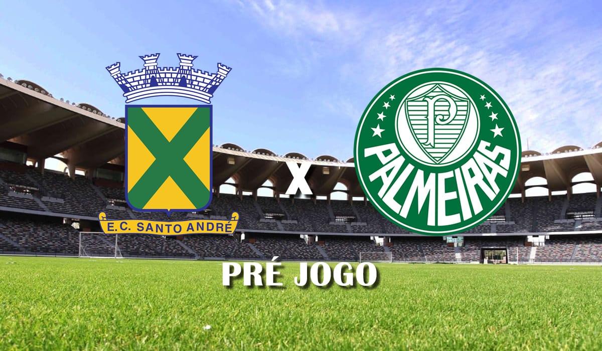 santo andre x palmeiras 10 rodada do campeonato paulista a1 de 2021 pre jogo