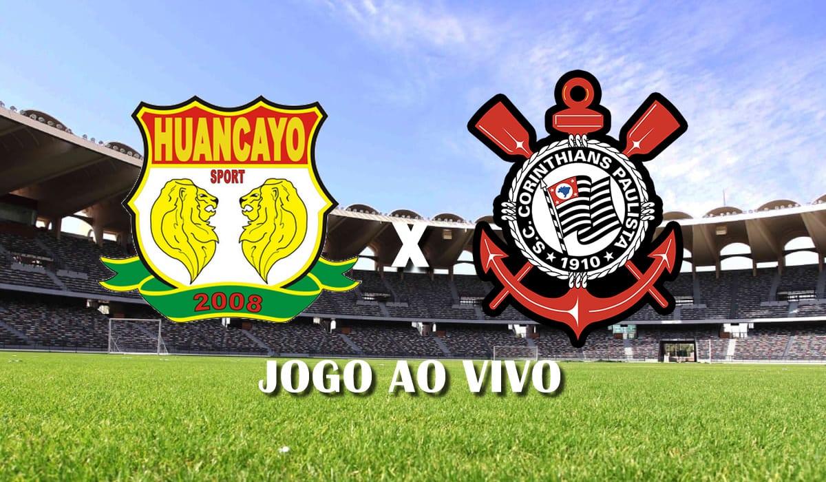 sport huancayo x corinthians copa sul americana 2021 terceira rodada grupo e jogo ao vivo