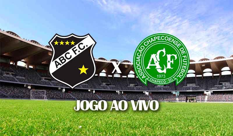 abc x chapecoense segundo jogo terceira fase copa do brasil 2021 jogo ao vivo
