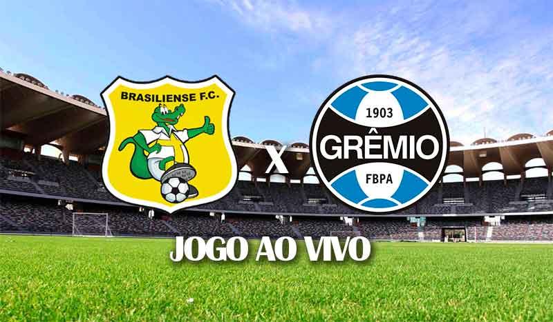 brasiliense x gremio segundo jogo copa do brasil 2021 jogo ao vivo