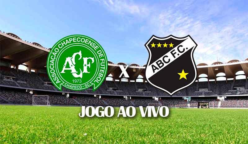 chapecoense x abc jogo de ida terceira fase copa do brasil 2021 jogo ao vivo