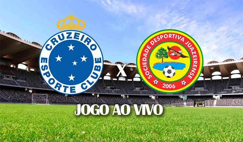 cruzeiro x juazeirense jogo de ida terceira fase copa do brasil 2021 jogo ao vivo