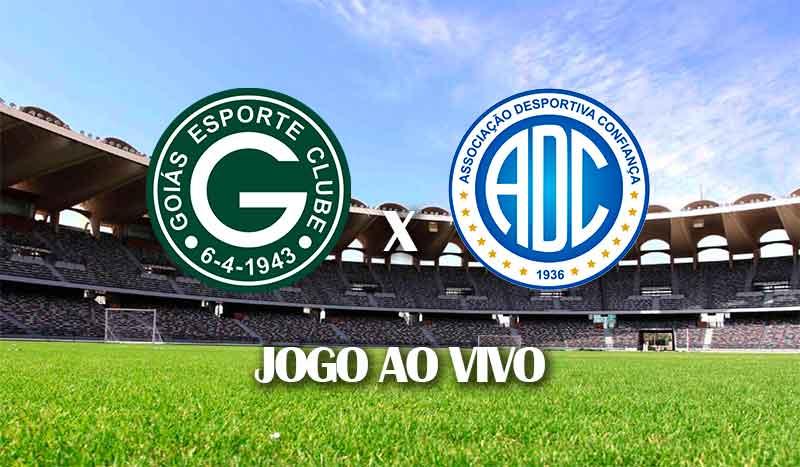 goias x confianca campeonato brasileiro 2021 serie b segunda divisao segunda rodada jogo ao vivo
