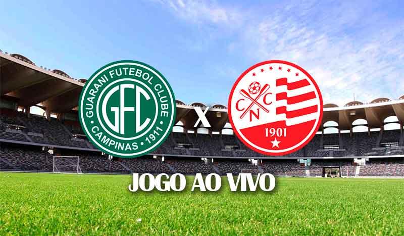 guarani x nautico terceira rodada brasileirao serie b 2021 jogo ao vivo