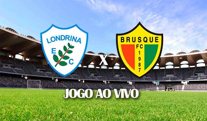 londrina x brusque segunda rodada campeonato brasileiro serie b brasileirao segunda divisao jogo ao vivo