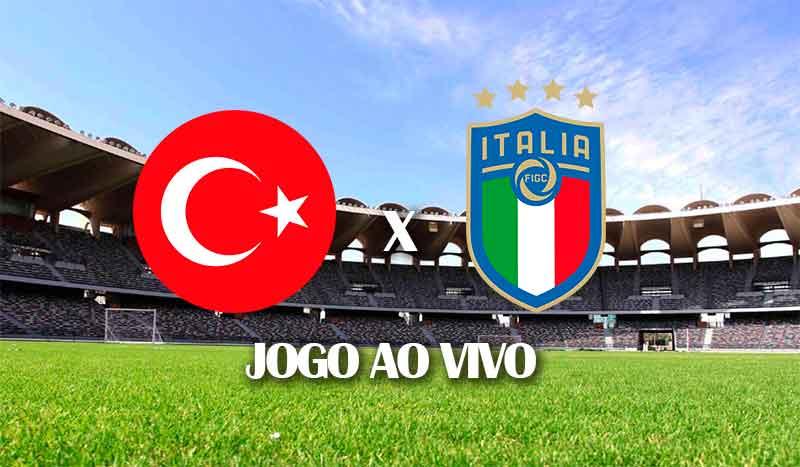 turquia x italia primeiro jogo eurocopa 2020 euro 2021 jogo ao vivo