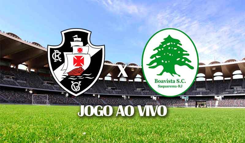 vasco x boa vista segundo jogo terceira fase copa do brasil 2021 jogo ao vivo