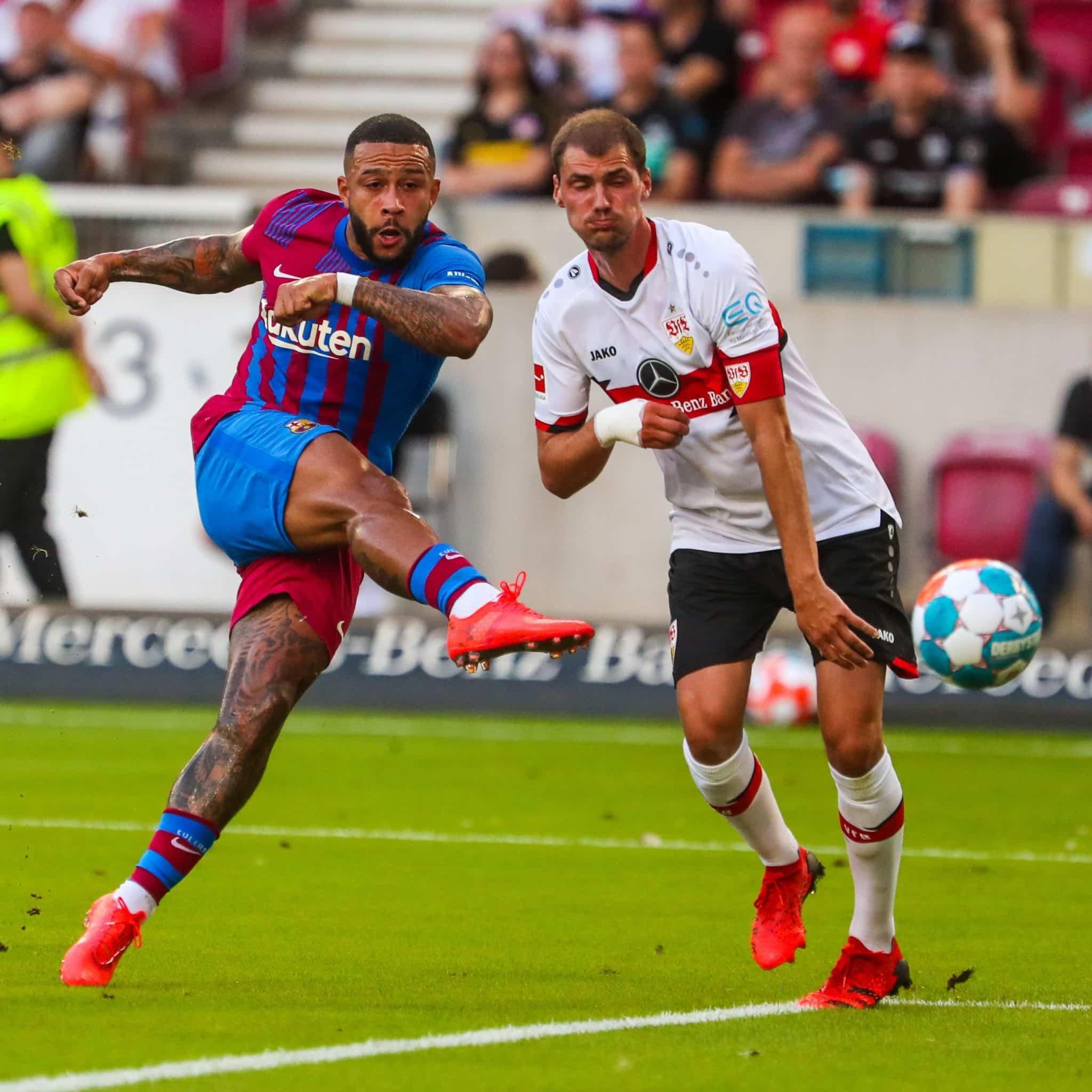Anunciado pelo Barcelona em junho deste ano, Memphis Depay soma dois gols em duas partidas disputadas pela equipe catalã
