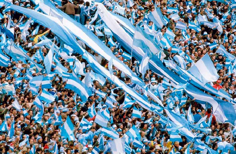 argentinos na final da Copa américa