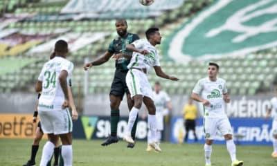 Ligados pelo mesmo setor da tabela, Chapecoense e América-MG se enfrentam na noite da próxima segunda-feira (16), às 20h, na Arena Condá