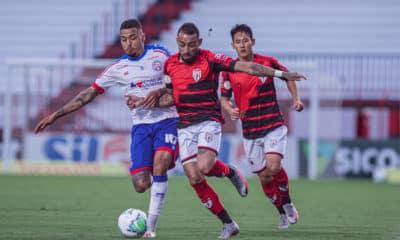 Mediante perspectivas equivalentes, Bahia e Atlético-GO se enfrentam na noite deste domingo (15), às 18h15, no Estádio Pituaçu, em Salvador