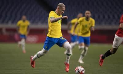 Mesmo sem marcar gols nos Jogos Olímpicos de Tóquio 2020, atacante tem tido boas atuações. Antony está na mira do Bayern de Munique