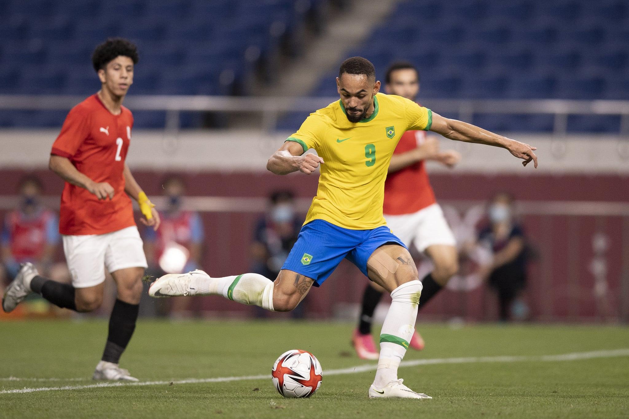 Com 20 gols nesse ciclo olímpico, Matheus Cunha apresentou melhoras e pode exercer seu poder de artilheiro diante da Espanha