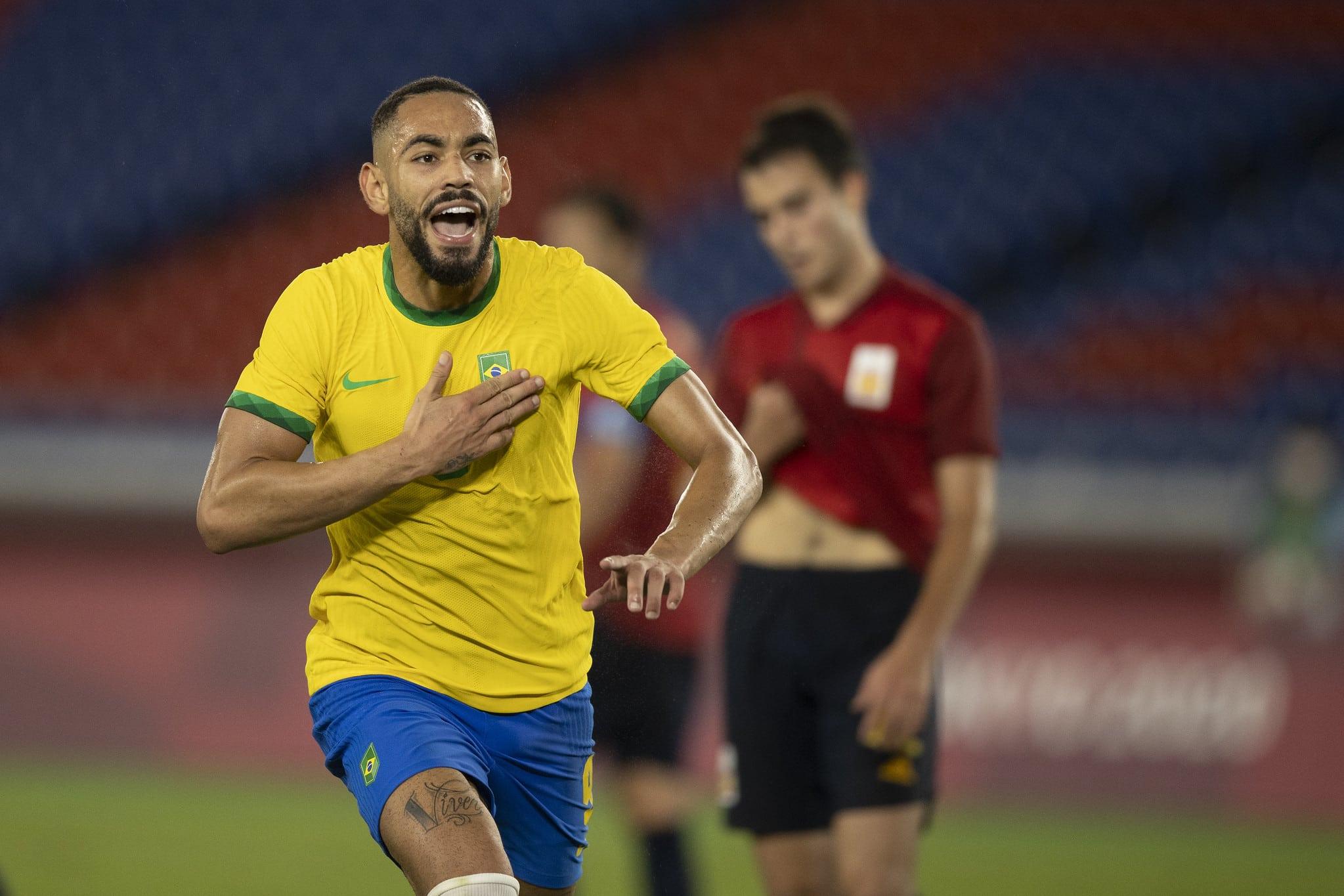 Artilheiro da Olimpíada de Tóquio 2020, com três gols, atacante brasileiro Matheus Cunha marcou oito gols em 28 jogos pelo Hertha BSC