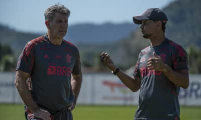 Rodrigo Caio ainda busca reequilíbrio muscular, e Pedro, se recupera de entorse no tornozelo esquerdo, portanto desfalcam o Flamengo