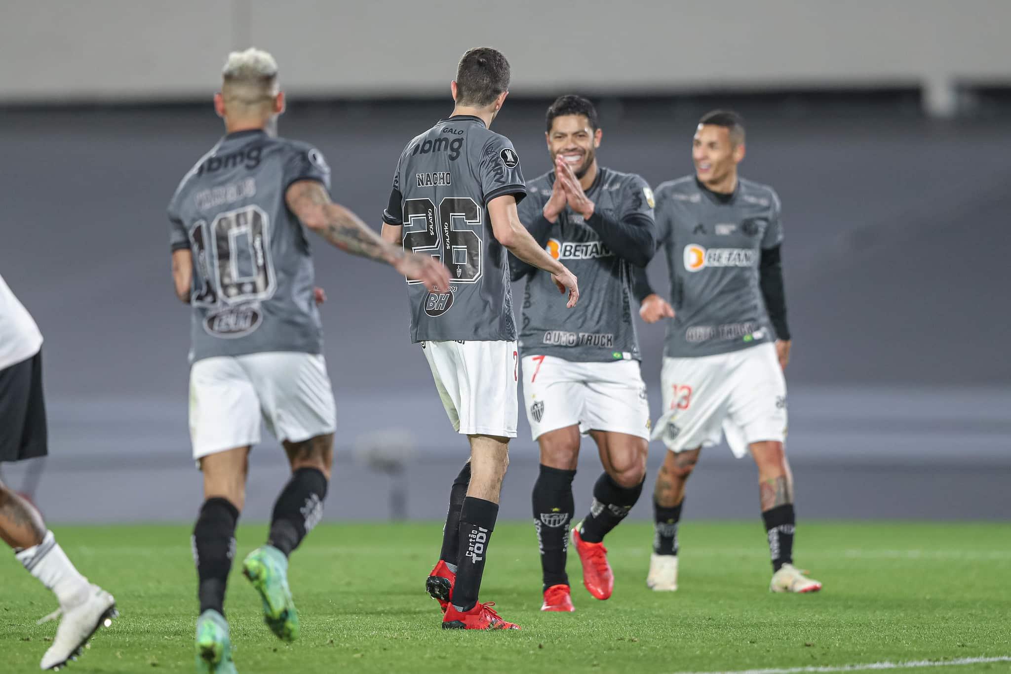 Autor do gol da vitória do Galo contra o River Plate e destaque do jogo da volta, Nacho ampliou a expectativa do Atlético por marca