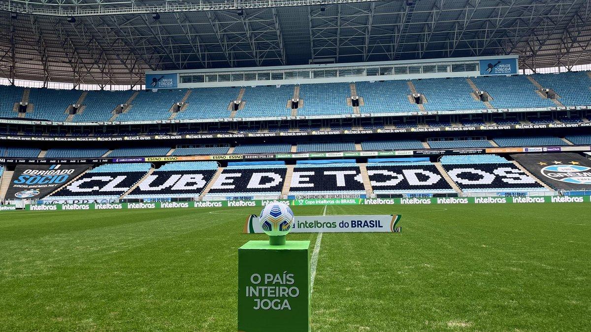 Com objetivos idênticos, Grêmio e Flamengo se enfrentam na noite desta quarta-feira (25), às 21h30, na Arena do Grêmio, em Porto Alegre-RS