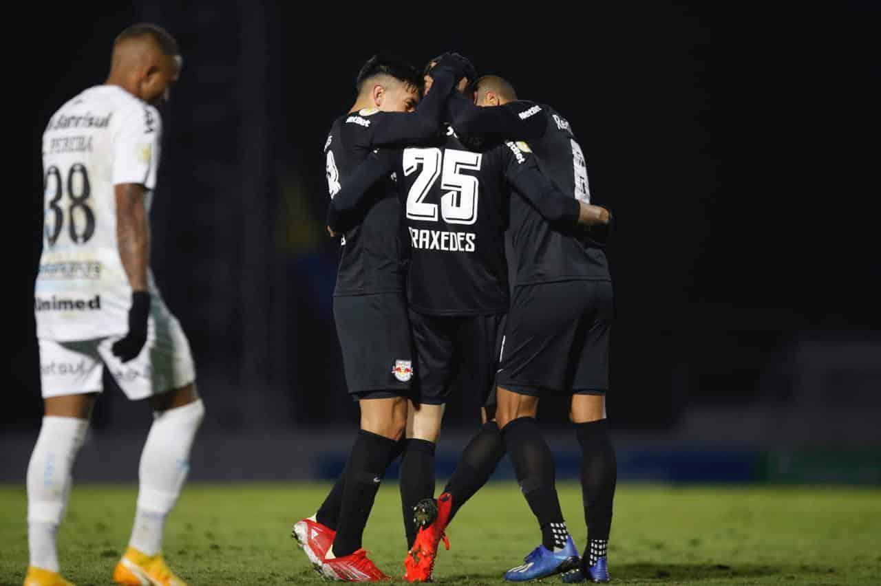 Praxedes marca e Red Bull Bragantino vence o Grêmio em casa. Resultado implica no segundo triunfo consecutivo do Braga sobre o adversário