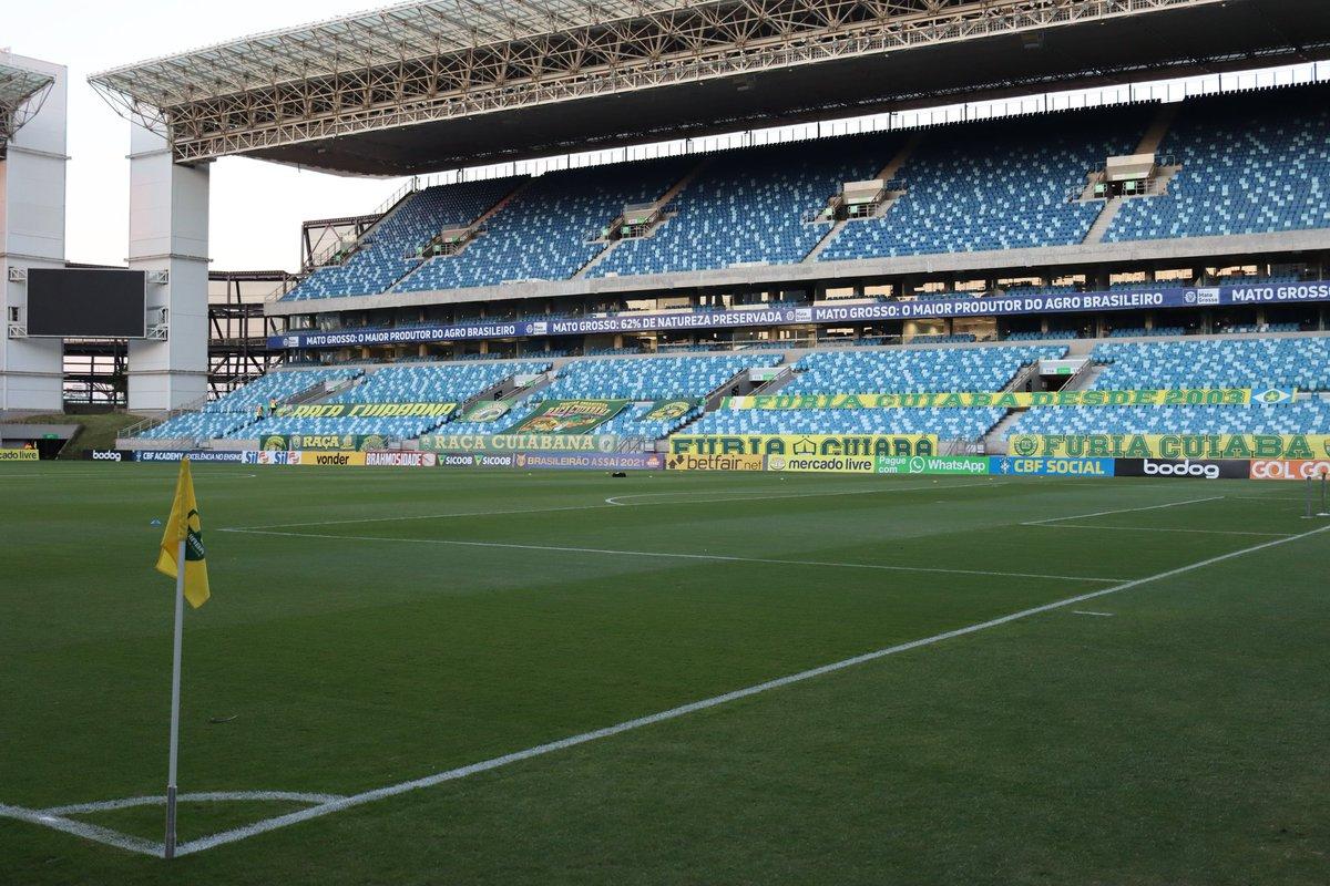 Com objetivos distintos, Cuiabá e Santos se enfrentam na noite deste sábado (04), às 21h, na Arena Pantanal, em Cuiabá (MT)