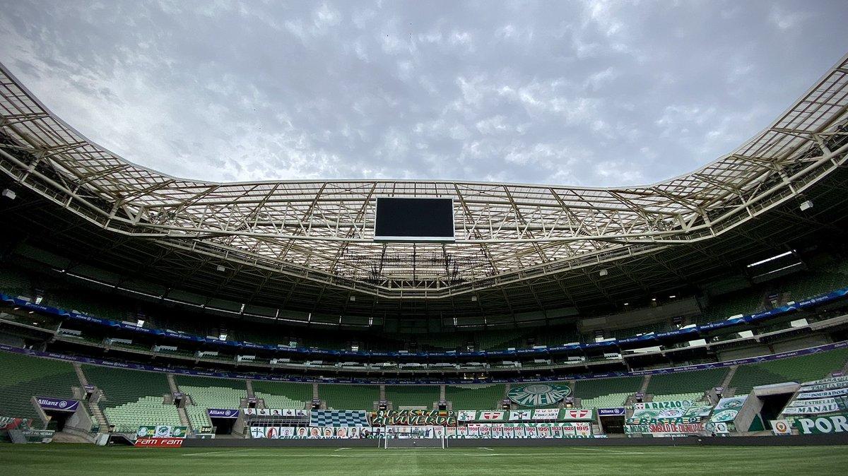 Com objetivos similares, Palmeiras e Flamengo se enfrentam na tarde deste domingo (12), às 16h, no Allianz Parque, em São Paulo (SP)