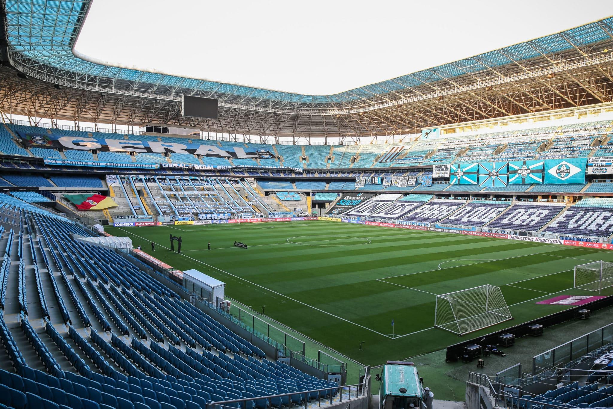 Com alvos distintos, Grêmio e Bahia se enfrentam na noite deste sábado (21), às 19h, na Arena do Grêmio, em Porto Alegre-RS