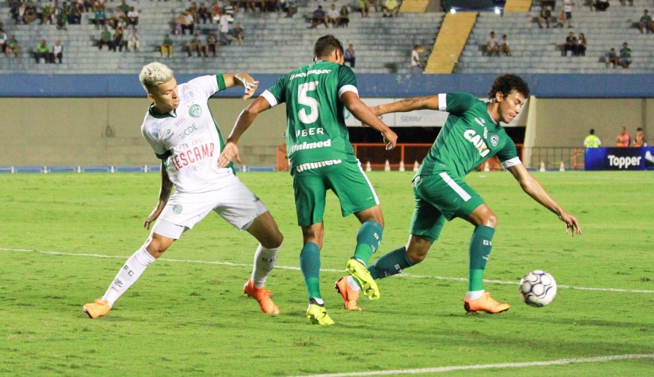 Distantes por um ponto, Goiás e Guarani se enfrentam na noite desta sexta-feira (13), às 19h, no Estádio Hailé Pinheiro (Serrinha)