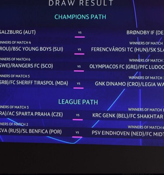 Dois times stão definidos para disputa dos playoffs. Comandado por Jorge Jesus, Benfica conhece caminho para entrar na fase de grupos