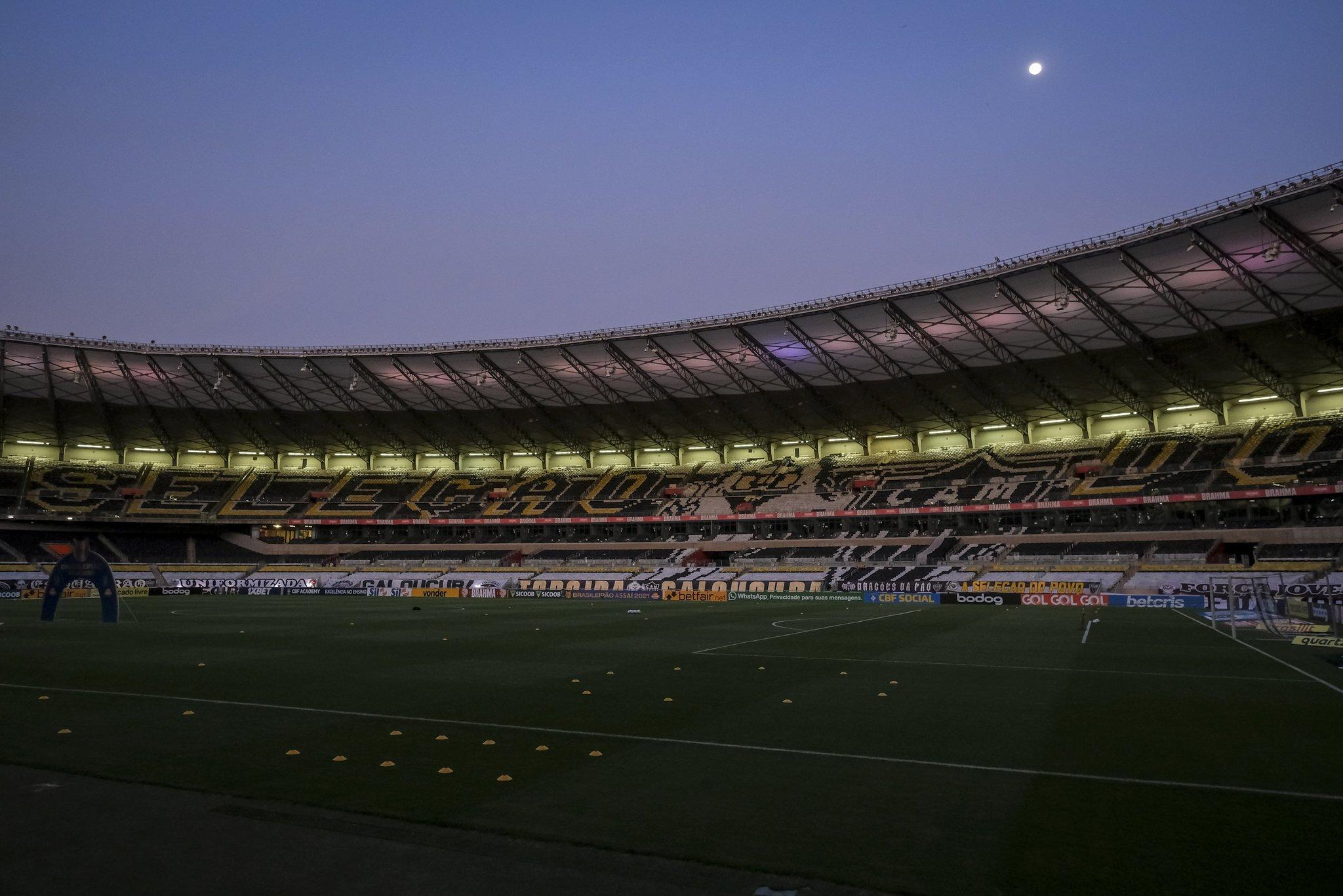 Com objetivos distintos, Atlético-MG e Ceará se enfrentam na noite deste domingo (10), às 16h, no Estádio Mineirão, em Belo Horizonte